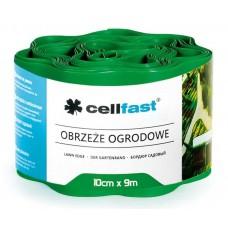 Xвилястий газонний бордюр Cellfast 0.1 х 9 м зелений