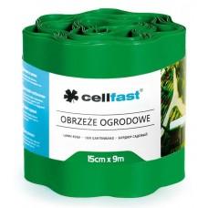 Xвилястий газонний бордюр Cellfast 0.15 х 9 м зелений