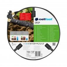 Крапельний шланг Cellfast Drip 1/2'' 7,5м