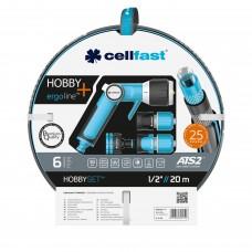 Поливальний комплект Cellfast HOBBY ATS2 Ergo 1/2'' 20м