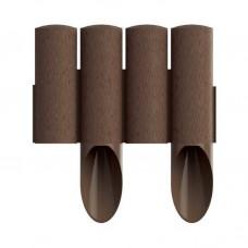 Парканчик Cellfast Standard 4 2,3 м коричневий