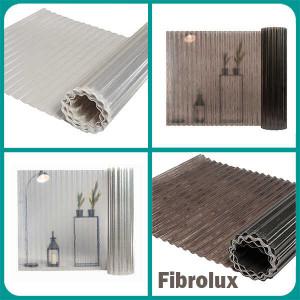 Прозрачный шифер Fibrolux