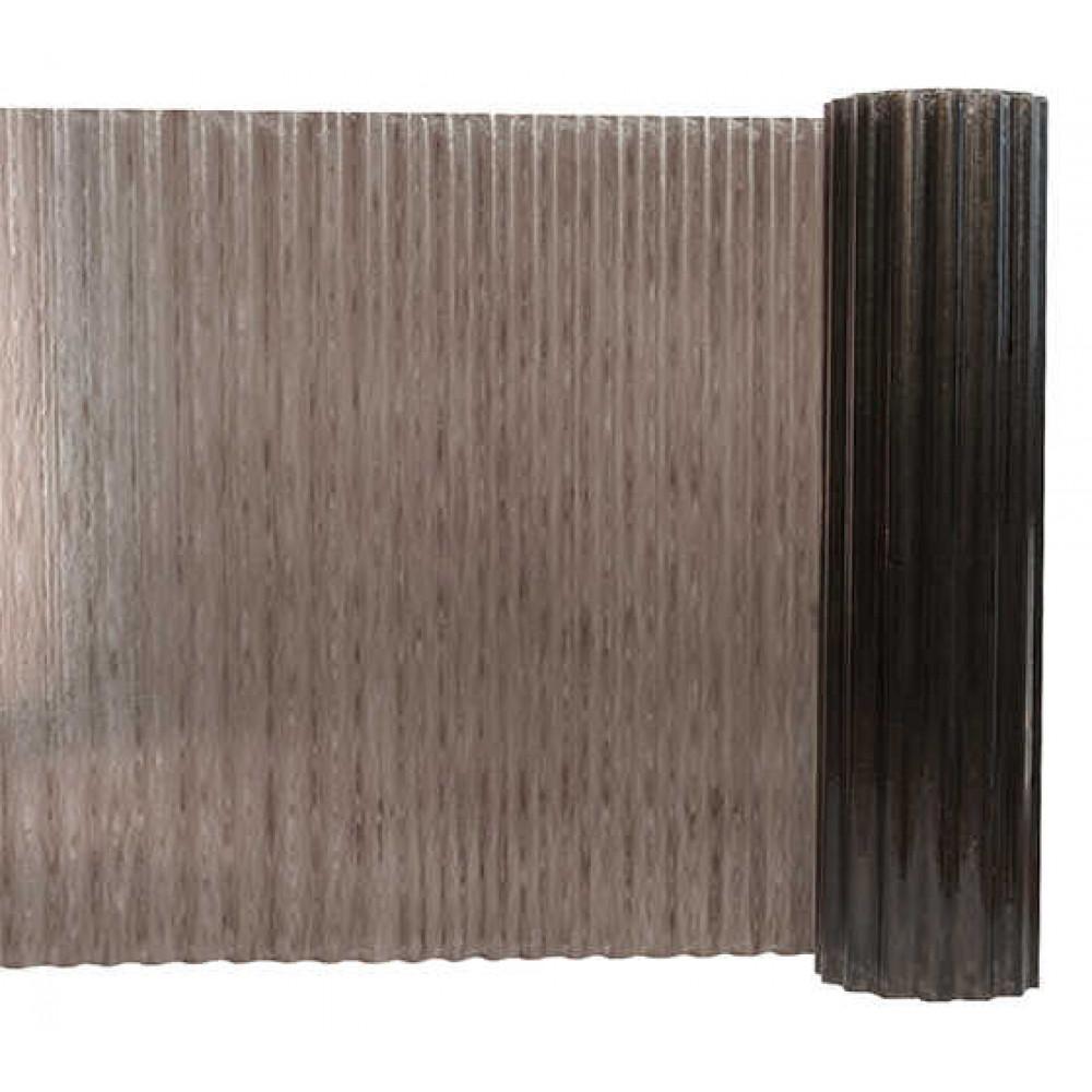 Прозорий гофрований шифер Fibrolux бронзовий 2,5 м