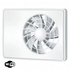 Витяжний вентилятор ВЕНТС iFan 100 WiFi білий з інтелектуальним контролем вологості, таймером та режимом провітрювання