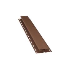 Планка H для софіту BudMat (темно-коричнева)