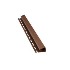 Планка J для софіту BudMat (світло-коричнева)
