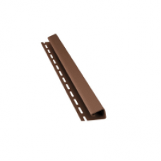 Планка J для софіту BudMat (темно-коричнева)