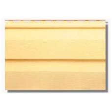 Сайдинг KANADA+ (Канада плюс) двопереломний  Престиж жовтий