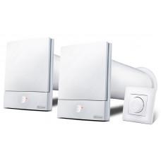 Комплект рекуператорів Ventoxx Harmony з стіновим управлінням Twist