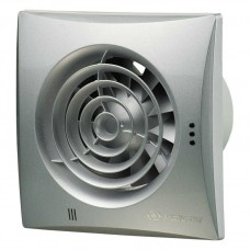 Витяжний вентилятор ВЕНТС Квайт 100 алюмінієвий лак зі зворотнім клапаном