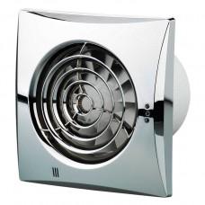 Вытяжной вентилятор ВЕНТС Квайт 150 хром с обратным клапаном