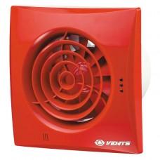 Витяжний вентилятор ВЕНТС Квайт 150 червоний зі зворотнім клапаном