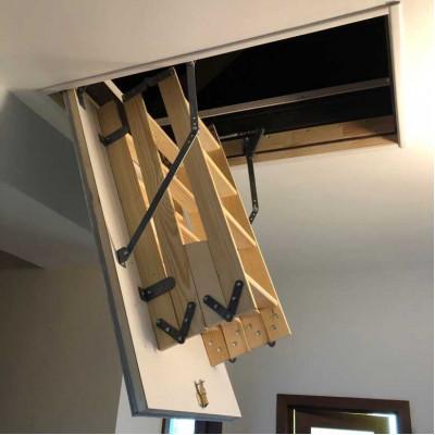 Лестница на чердак Хот Степ в сложенном виде